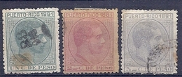 200034897  PUERTO RICO  EDIFIL  Nº 48/49/51 - Puerto Rico