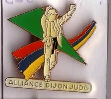 C62 Pin's Alliance Judo DIJON Cote D'Or Achat Immédiat - Judo