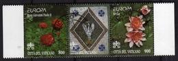 CITTÀ DEL VATICANO VATICAN VATIKAN 1999 EUROPA UNITA CEPT SERIE COMPLETA  COMPLETE SET USATA USED OBLITERE' - Used Stamps