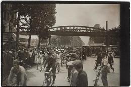 Photo Athletisme  Marche A Pied  Paris-strasbourg ?  Vers 1930  Avenue Jean Jaures   Paris,bobigny ? - Athletics