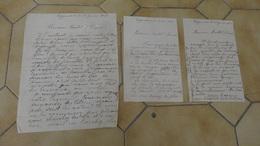Lettres Signée Par Edouard PERRET Artiste Peintre Et Regisseur Du Mas De Loc A EYGUIERES - 1941 - Autographes
