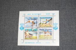Bloc Feuillet Jeux Olympiques De Rome 1960 Pour Collection,état Voir Photos,neuf Avec Gomme - Blocchi 1924 – 1960