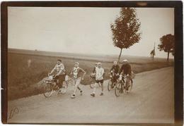 Photo Athletisme  Marche A Pied  Paris-strasbourg ?  Vers 1930 Godard Et Steinentz Entre 51 Epernay Et Chalons Sur Marne - Athletics