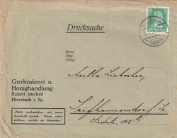 Deutsches Reich / 1929 / Brief EF, Abs. Grossimkerei U. Honighandlung R. Jsterheil Ebersbach (BC18) - Deutschland