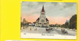 BASEL Pauluskirche () Suisse (BS) - BS Basel-Stadt