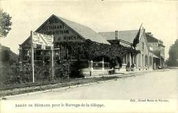 026 902 - CPA - Belgique - Arrêt De Bethane Pour Le Barrage De La Gileppe - Gileppe (Barrage)