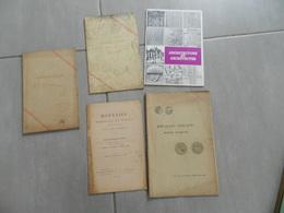 Lot De  9 Livrets Monnaie   Vente  Aux  Encheres     +  Un Monnaies  De Paris    Architecture  Et Architectes - Libri & Software