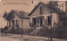 D93  LE BLANC MESNIL  Cité Jardin Deux Jolies Villas  ........ Carte Abimée - Le Blanc-Mesnil