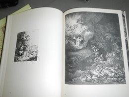 LIVRE 288 PAGES Gravures De REMBRANDT, Complet , Nouvelle édition 1977 - Art