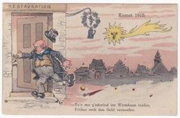 KOMET - 1910 - HALLEY - Astronomie