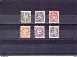 NORVEGE 1978 Série Courante Yvert  714-719 NEUF** MNH - Norwegen