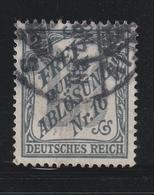 Deutsches Reich / 1905 / Dienstmarke Mi. 9 Gestempelt (BC27) - Dienstpost