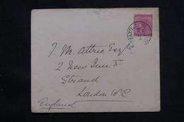 NATAL - Enveloppe Du Durban Club Pour Londres En 1929, Affranchissement Plaisant - L 59966 - Natal (1857-1909)