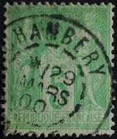 -Sage N°102 Type III.(CAD) O  CHAMBERY 29 MARS 1900 ( NsB) - 1898-1900 Sage (Type III)