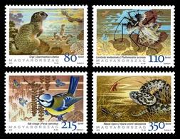 Hungary 2010 Mih. 5473/76 Fauna. International Year Of Biodiversity MNH ** - Ungarn