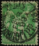 -Sage N°106 Type II.(CAD) O PARIS JOURNAUX 25 FEVR 1899. - 1876-1898 Sage (Type II)