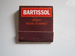 POCHETTE D'ALLUMETTES BARTISSOL APERITIF ROUGE OU BIANCO - Matchboxes