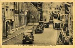 026 905 - CPA - Belgique - Theux - La Rue De L'Eglise Avec L'hospice Ste Joséphine - Theux