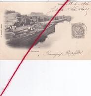 CP 62 -   BETHUNE   - Le Quai Au Bois   -   PENICHES - Bethune