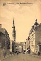 Verviers - Rue Ortmans-Hauzeur (animée 1923)  (petit Prix Fixe) - Verviers