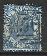 GB SG 120, Mi 34 O Used Plate 1 - Used Stamps