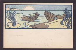 CPA COMBAZ Art Nouveau Non Circulé Voir Scan Du Dos - Combaz