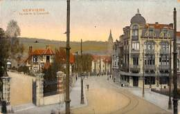 Verviers - Le Rue De La Concorde (colorisée 1911) (petit Prix Fixe) - Verviers