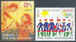 (!)  Timbre EUROPA CEPT De 2006  MONTENEGRO  Y&T 136/137 Neuf(s) ** Mnh - 2006