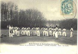 Carte POSTALE Ancienne De  JOINVILLE - Ecole De Gymnastique & D'Escrime - Boxe, La Garde - Joinville Le Pont