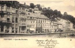 Verviers - Quai Des Récollets (précurseur 1905) (petit Prix Fixe) - Verviers