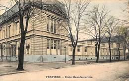 Verviers - Ecole Manufacturière (colorisée Edit N C T 1906) (petit Prix Fixe) - Verviers