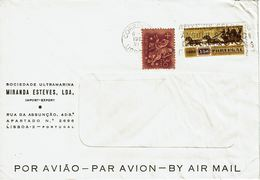 Mechanical Meter 1965 ,  Slogan  Postmark  AFIXE OS SELOS NO ÂNGULO SUPERIOR DIREITO , Soc. Ultramarina Miranda Esteves - Postmark Collection