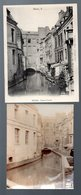 Douai (59 Nord) Cpa : Pont à L'herbe + Une Photo Originale Du Même Lieu (1905) (PPP22783) - Douai