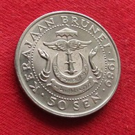 Brunei 50 Sen 1989 KM# 19 - Brunei