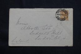 RHODÉSIE - Affranchissement Plaisant De Fort Jameson Sur Enveloppe En 1928 Pour Londres - L 59983 - Nordrhodesien (...-1963)