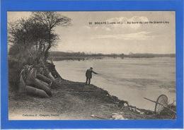 44 LOIRE ATLANTIQUE - BOUAYE Au Bord Du Lac, Nasses à Anguilles Pour La Pêche à La Bosselle - Bouaye