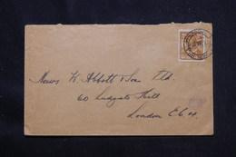 RHODÉSIE - Affranchissement Plaisant Sur Enveloppe En 1928 Pour Londres - L 59985 - Nordrhodesien (...-1963)
