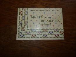 Livret Motifs Pour Broderies VI Eme Série - Très Bon état - Cross Stitch