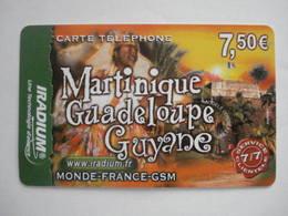 Carte Prépayée Française Iradium ( Utilisée ) Tirage: ? Exemplaires. - Prepaid Cards: Other