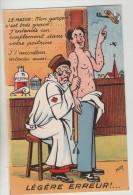 CPA Humoristique - LEGERE ERREUR - Etat Exceptionnel (originale Et Neuve) - 1914-18