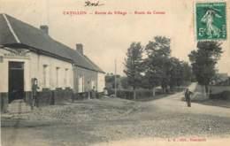 Dep - 59 - CATILLON  Entrée Du Village , Route Du Cateau - France