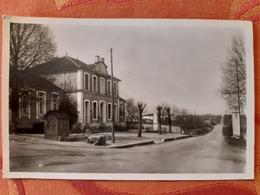 CPSM La Rochette Charente 16 Mairie Et Route De La Duchesse - Sonstige Gemeinden