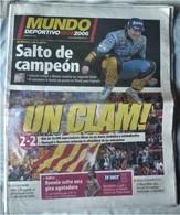 MUNDO DEPORTIVO DE 9 DE OCTUBRE DE 2006 - Magazines & Newspapers