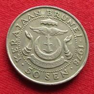 Brunei 50 Sen 1978 KM# 19 - Brunei