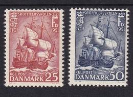 Denmark 1951, Ships Complete Set, MNH. Cv 4 Euro - Dänemark
