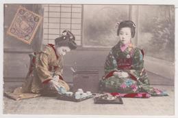Japan - 2  Femmes Japonaises Et Prise Du Thé - Sin Clasificación