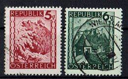 Mi. 740,741 O - 1945-60 Usados