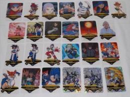 C06 BEYBLADE LOTTO 25 CARDS MANGA ANIME - Trading Cards