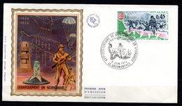 FDC FRANCE 1974 - N° 1799 - 30ème Anniversaire Du Débarquement En Normandie - 1970-1979
