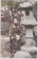 Japon - Femme Japonaise En Kimono Traditionnel - Geishas - Sin Clasificación